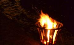 Adventsfeuer im Torfhafen 2016